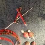 Jewelry Scottish paper